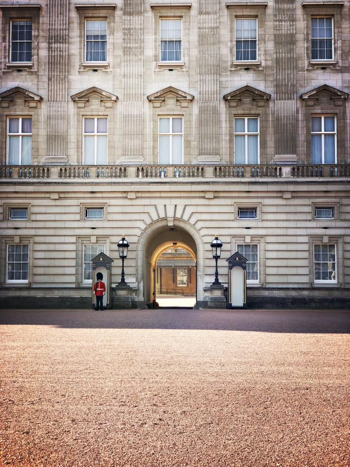 Buckingham Palace - Rückkehr von Alice von Battenberg